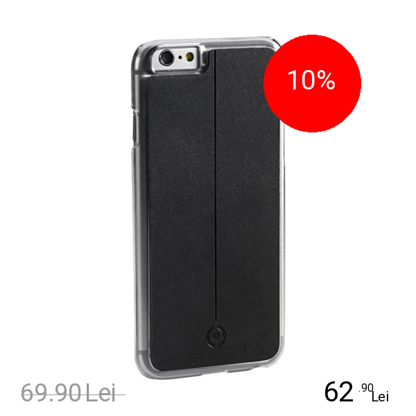 Celly Husa Magnetica pentru Iphone 6-6S Negru APPLE iPhone 6, iPhone 6S