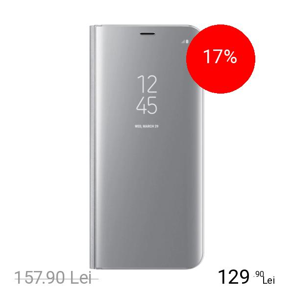 Samsung Husa Agenda Clear View Argintiu SAMSUNG Galaxy S8