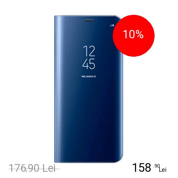 Samsung Husa Agenda Clear View Albastru SAMSUNG Galaxy S8