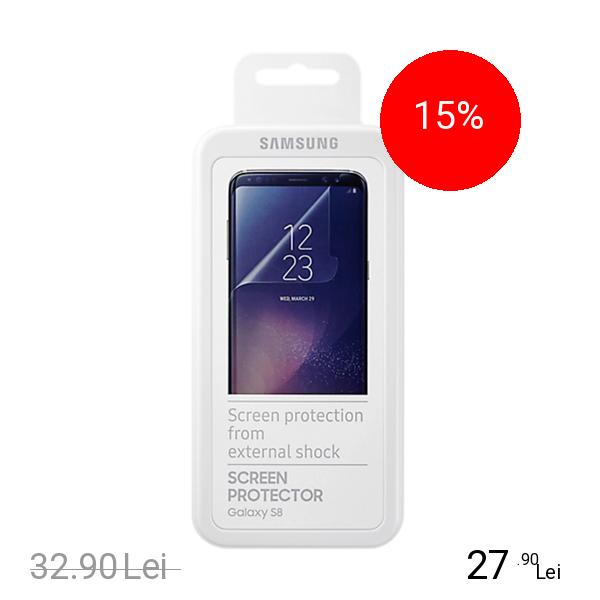 Samsung Folie De Protectie Transparenta Transparent SAMSUNG Galaxy S8