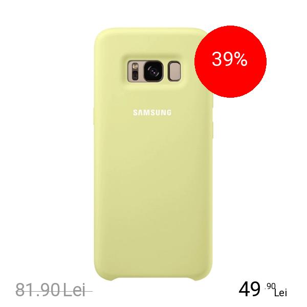 Samsung Husa Capac Spate Silicon Cover Verde SAMSUNG Galaxy S8 Plus