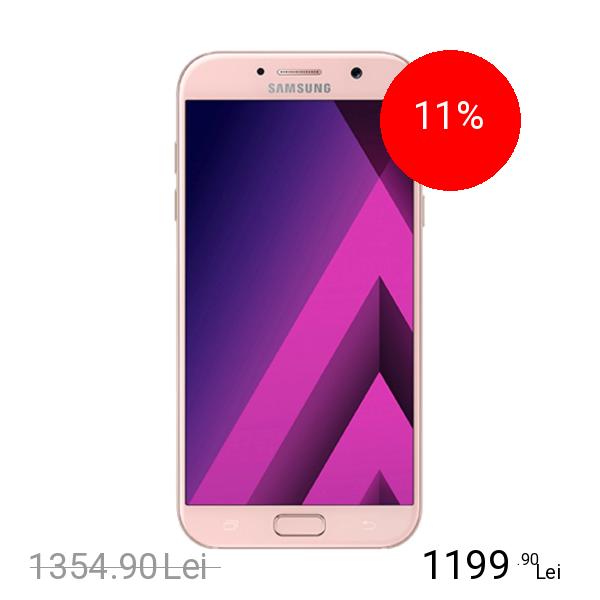 Samsung Galaxy A5 2017 32GB LTE 4G Roz 3GB RAM title=Samsung Galaxy A5 2017 32GB LTE 4G Roz 3GB RAM