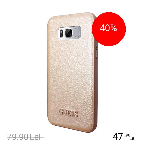 Guess Husa Capac Spate Auriu SAMSUNG Galaxy S8 Plus