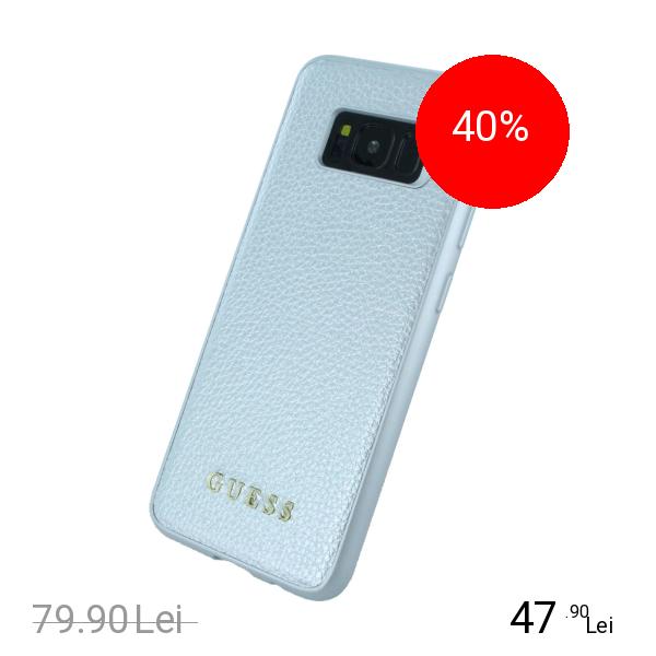 Guess Husa Capac Spate Argintiu SAMSUNG Galaxy S8