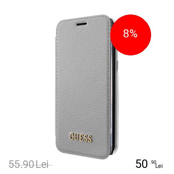 Guess Husa Agenda Argintiu SAMSUNG Galaxy S8