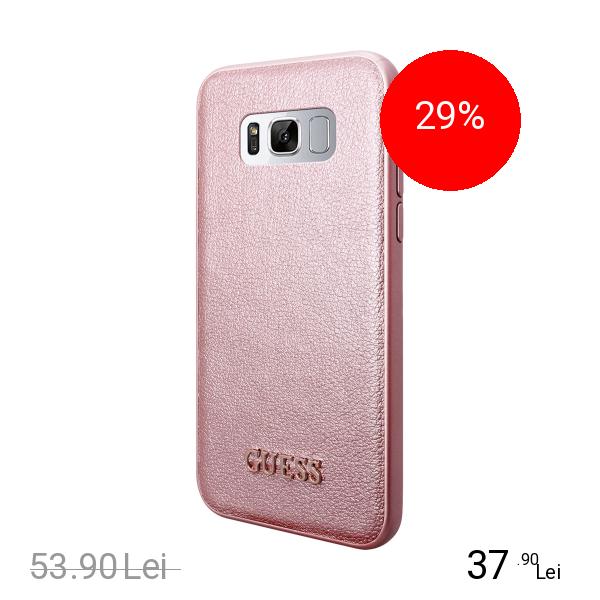 Guess Husa Capac Spate Roz SAMSUNG Galaxy S8