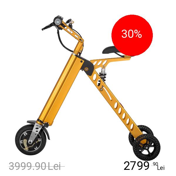 NEWBITS Bicicleta Electrica Pliabila E-Bike