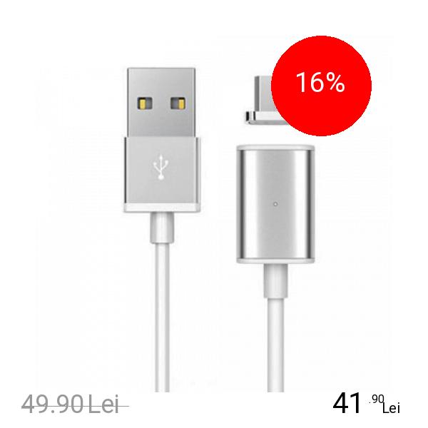 STAR Cablu Incarcare Magnetic Cu Conector Micro USB