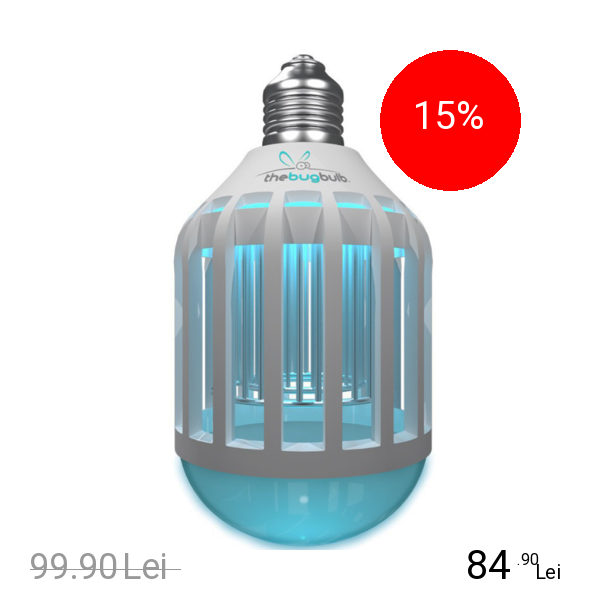 THE BUG Bec Led Bulb 10 W Cu Functie Impotriva Insectelor