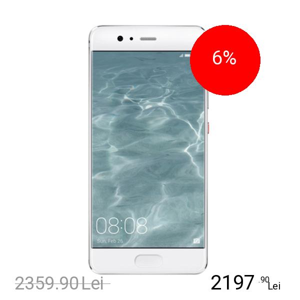 Huawei P10 Dual Sim 64GB LTE 4G Argintiu 4GB RAM