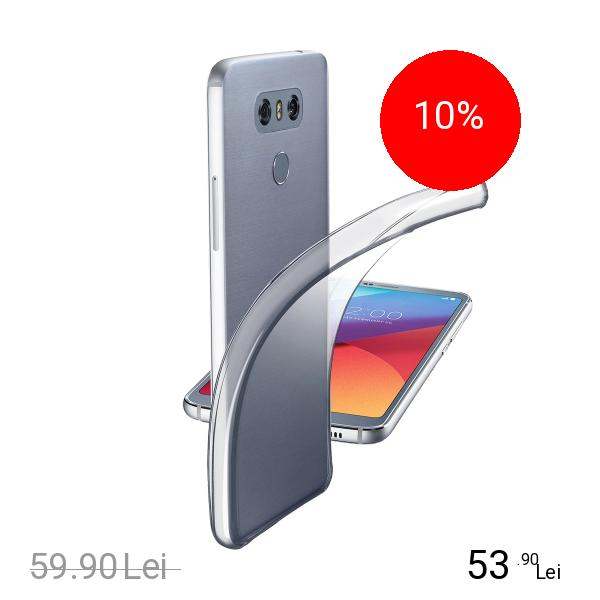 Cellularline Husa Capac Spate Transparent LG G6