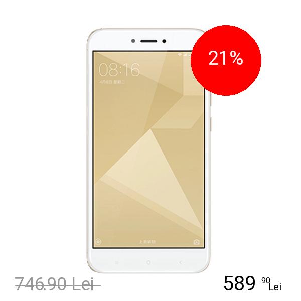 Xiaomi Redmi 4X Dual Sim 32GB LTE 4G Auriu 3GB RAM