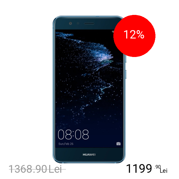 Huawei P10 Lite Dual Sim 64GB LTE 4G Albastru 4GB RAM