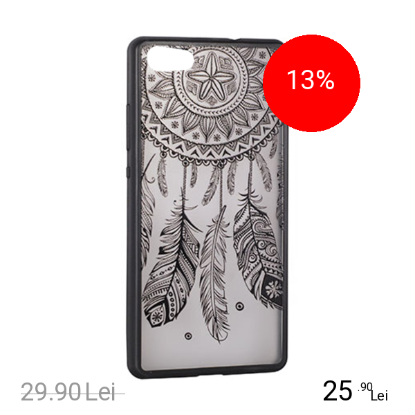 STAR Husa Capac Spate Lace Design 3 Negru APPLE iPhone 6, iPhone 6S