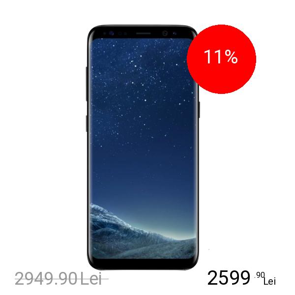 Samsung Galaxy S8 Plus Dual Sim 128GB LTE 4G Negru 6GB RAM