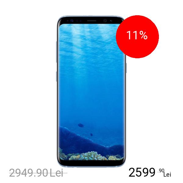 Samsung Galaxy S8 Plus Dual Sim 128GB LTE 4G Albastru 6GB RAM