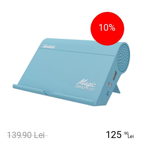 NEWBITS HEY!U Amplificator De Sunet Wireless Magic Contact Albastru