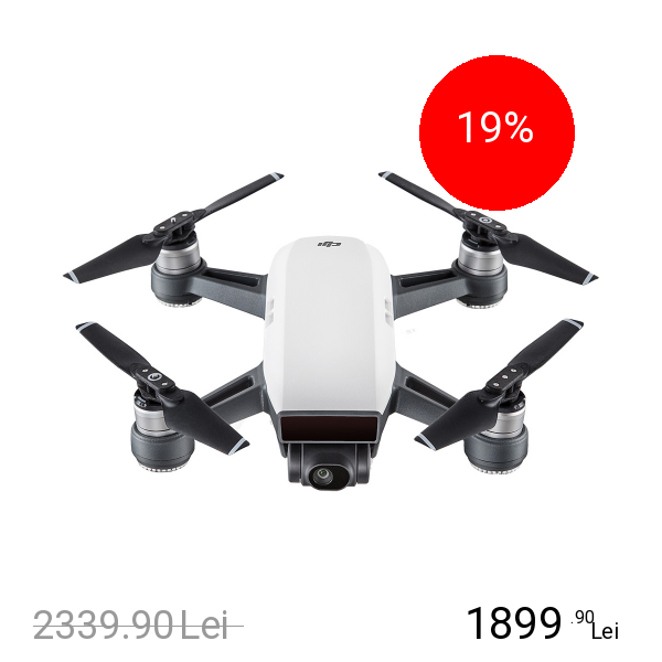 DJI Spark Drona Alb