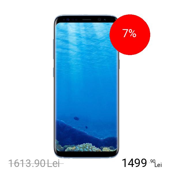 Samsung Galaxy S8 Plus Dual Sim 64GB LTE 4G Albastru 4GB RAM
