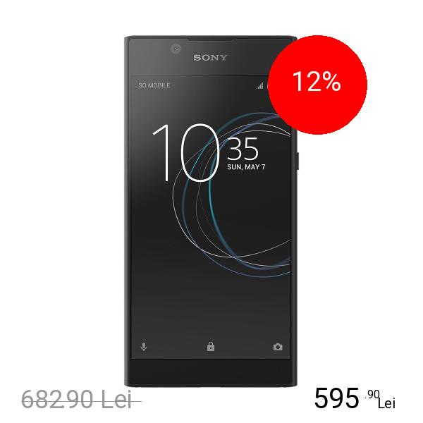 Sony Xperia L1 Dual Sim 16GB LTE 4G Negru
