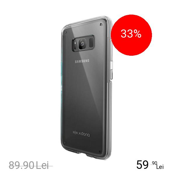 X-Doria Husa Capac Spate Coque Clearvue 360 Transparent SAMSUNG Galaxy S8