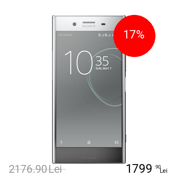 Sony Xperia XZ Premium Dual Sim 64GB LTE 4G Argintiu 4GB RAM