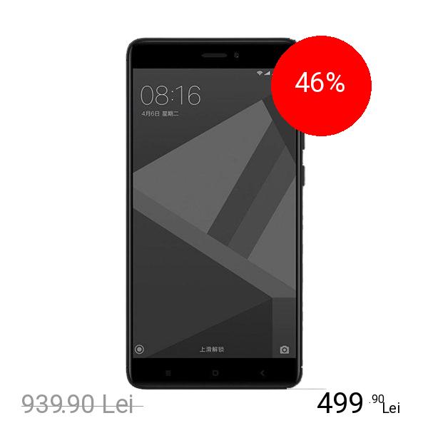 Xiaomi Redmi Note 4X Dual Sim 16GB LTE 4G Negru 3GB RAM