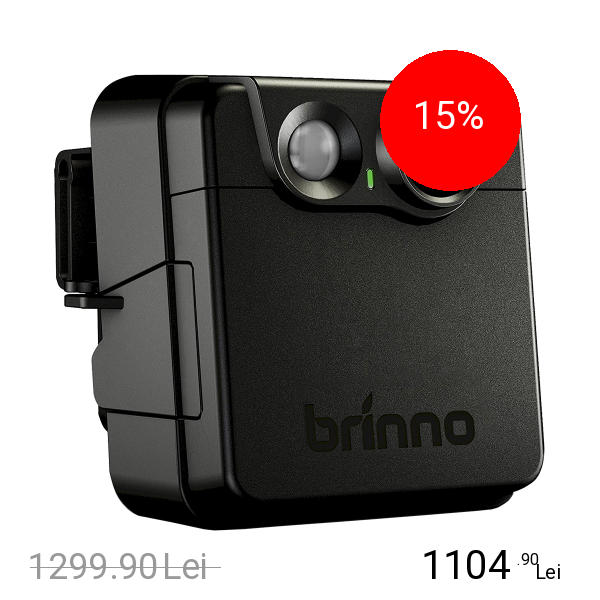 BRINNO Camera de Supraveghere Portabila Time-Lapse Security