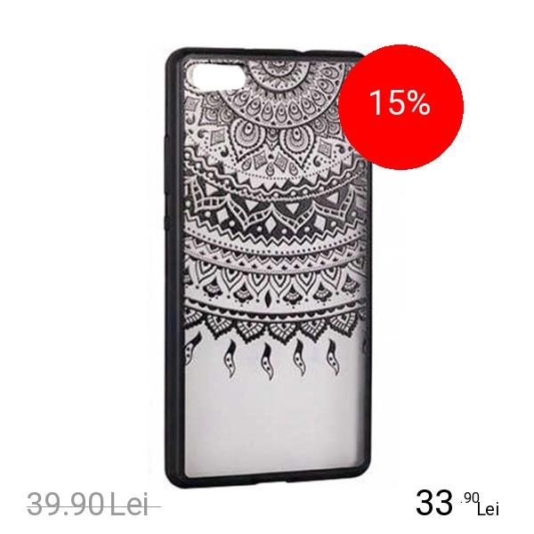 STAR Husa Capac Spate Lace Design 1 Negru APPLE iPhone 6, iPhone 6S