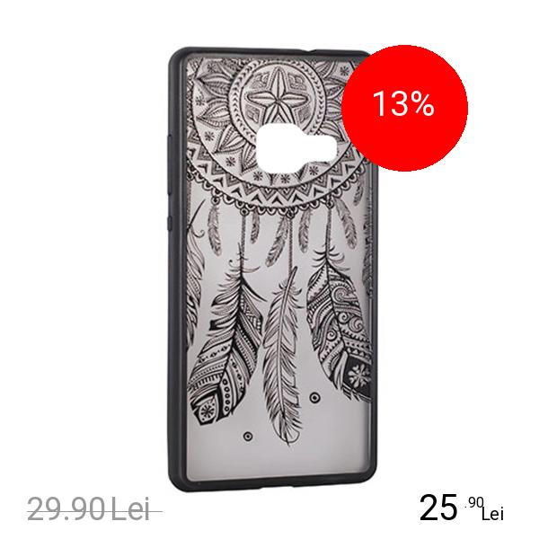 STAR Husa Capac Spate Lace Design 3 Negru Samsung Galaxy S7 Edge