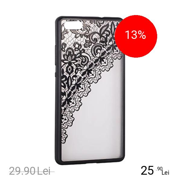 STAR Husa Capac Spate Lace Design 2 Negru SAMSUNG Galaxy S8 Plus