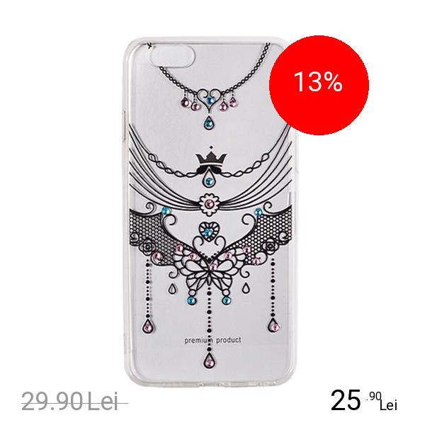 STAR Husa Capac Spate Vennus Design 1 Negru SAMSUNG Galaxy S8