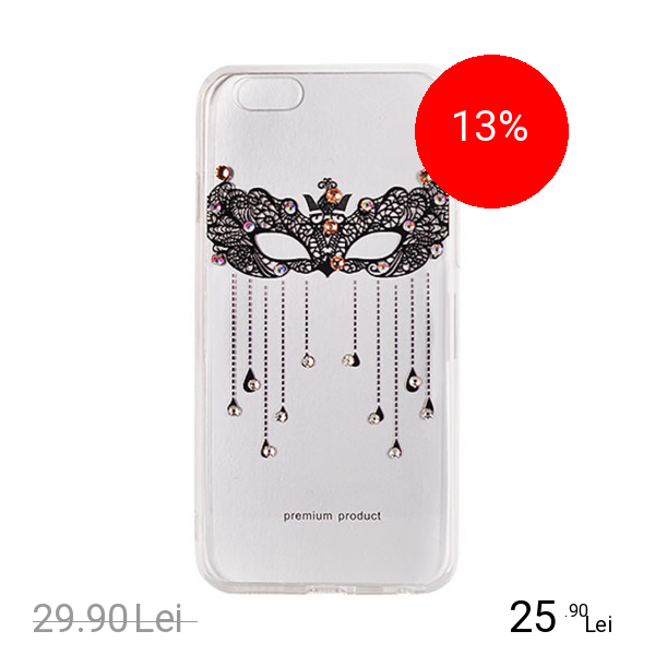 STAR Husa Capac Spate Vennus Design 2 Negru SAMSUNG Galaxy S8 Plus