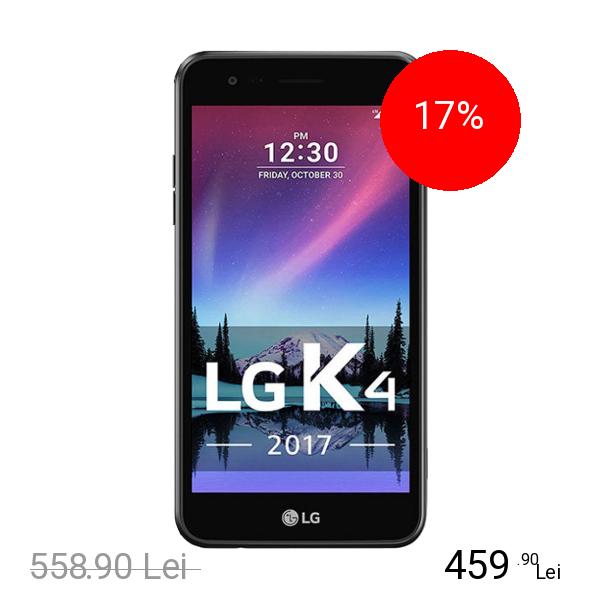 Lg K4 2017 Dual Sim 8GB LTE 4G Negru