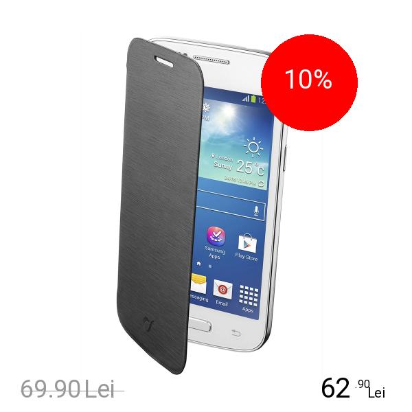 Cellularline Husa Agenda Negru SAMSUNG Galaxy Core Plus
