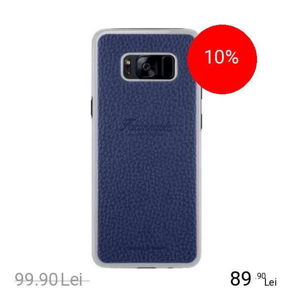 FACONNABLE Husa Capac Spate Riviera Albastru SAMSUNG Galaxy S8
