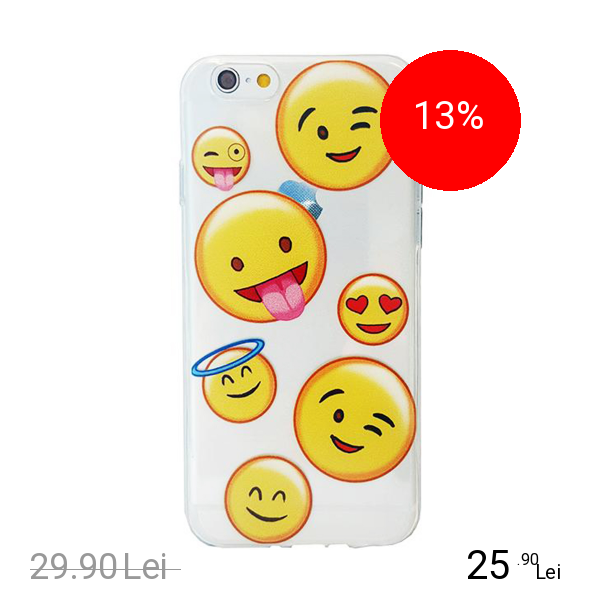 STAR Husa Capac Spate Emoji Apple iPhone 7, iPhone 8