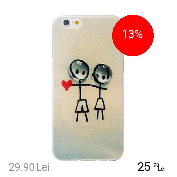 STAR Husa Capac Spate Couple In Love Apple iPhone 7, iPhone 8