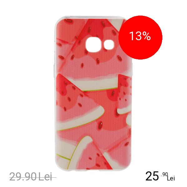 STAR Husa Capac Spate Watermelon SAMSUNG Galaxy A3 2017 title=STAR Husa Capac Spate Watermelon SAMSUNG Galaxy A3 2017