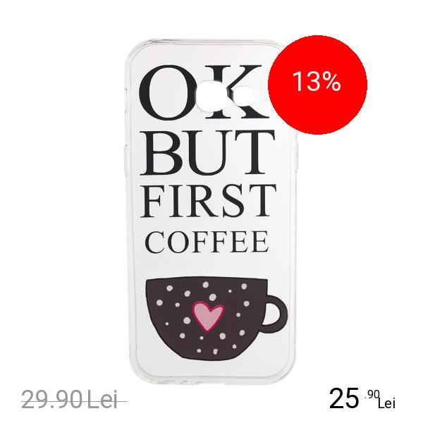 STAR Husa Capac Spate Morning Coffee SAMSUNG Galaxy A5 2017
