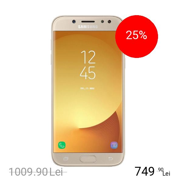 Samsung Galaxy J5 2017 Dual Sim 16GB LTE 4G Auriu