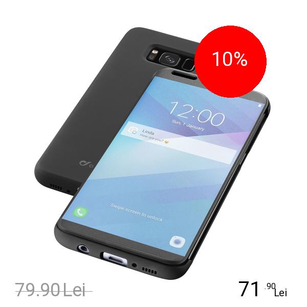Cellularline Husa Agenda Negru SAMSUNG Galaxy S8
