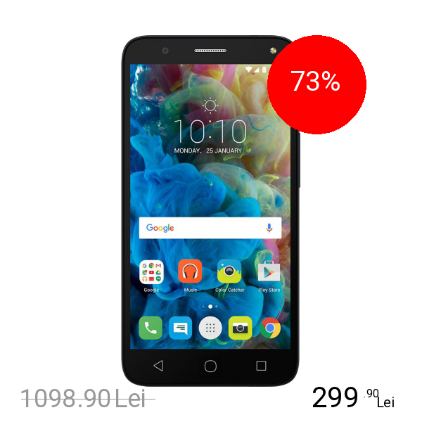 Alcatel Pop 4 Dual Sim 8GB LTE 4G Negru