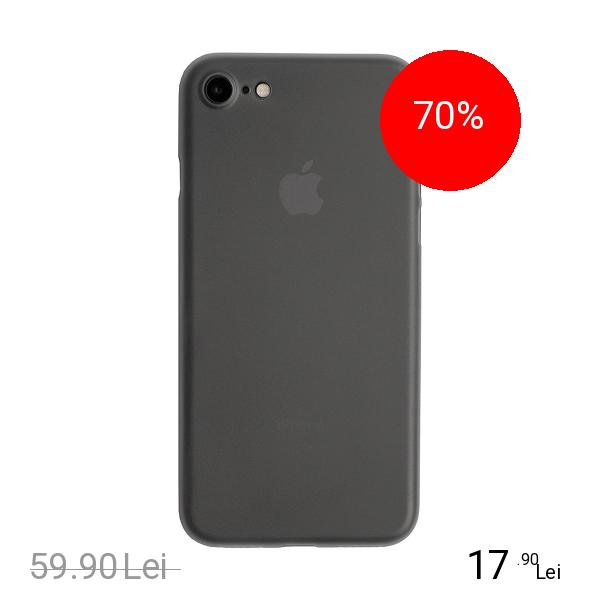 ZMEURINO Husa Capac Spate Slim Gri Apple iPhone 7, iPhone 8