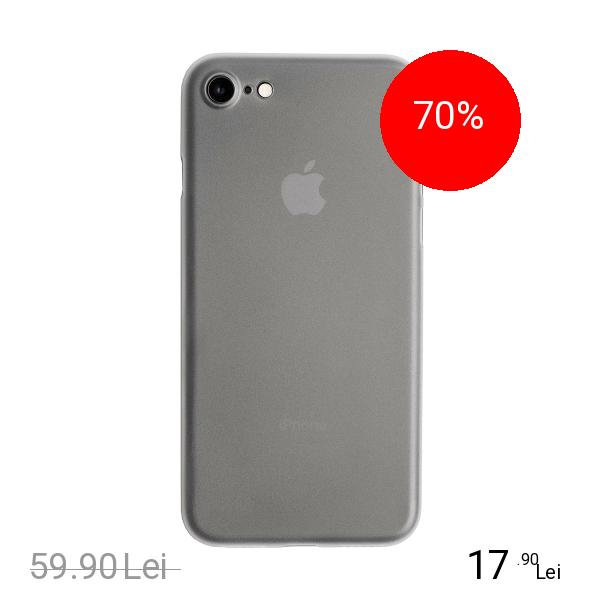 ZMEURINO Husa Capac Spate Slim Alb Apple iPhone 7, iPhone 8