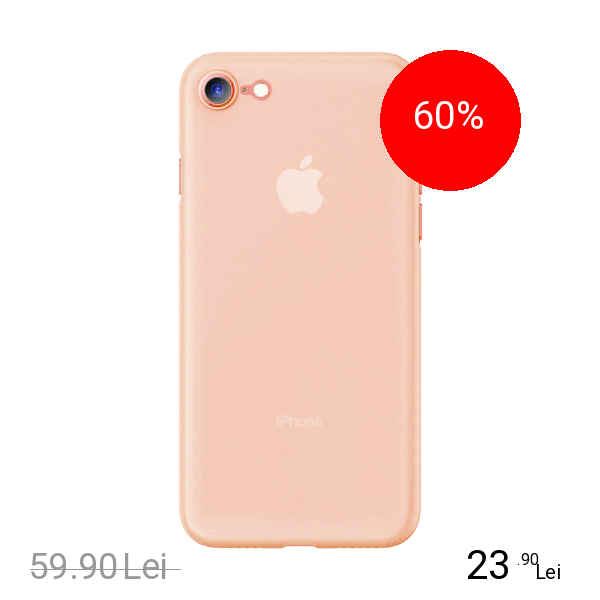 ZMEURINO Husa Capac Spate Slim Auriu Apple iPhone 7, iPhone 8