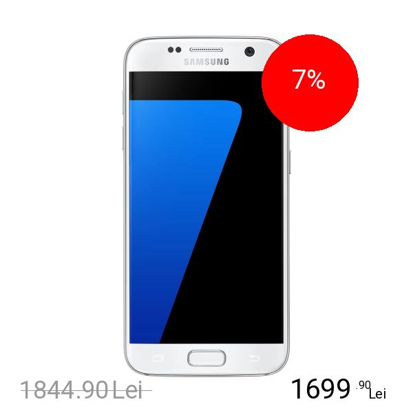 Samsung Galaxy S7 Dual Sim 32GB LTE 4G Alb 4GB RAM