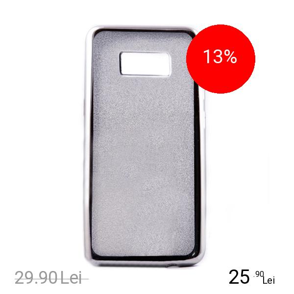 STAR Husa Capac Spate Elektro Glitter Argintiu SAMSUNG Galaxy S8
