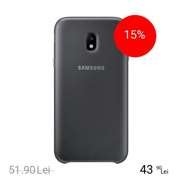 Samsung Husa Capac Spate Dual Layer Negru SAMSUNG Galaxy J3 2017