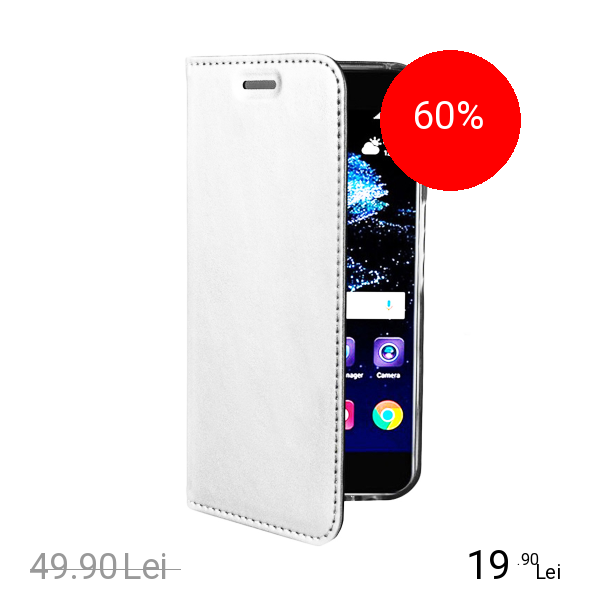 ZMEURINO Husa Agenda Card Slot Alb SAMSUNG Galaxy S8